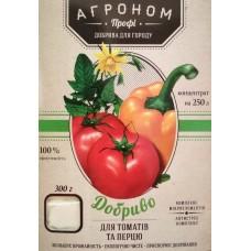 Добриво Агроном ПРОФІ для томатів та перцю, 300 г