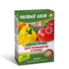 Добриво  для томатів та перцю кристалічне, 0,3 кг.