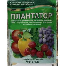 Добриво Плантатор Дозрівання плодів - NPK 5.15.45, 25г